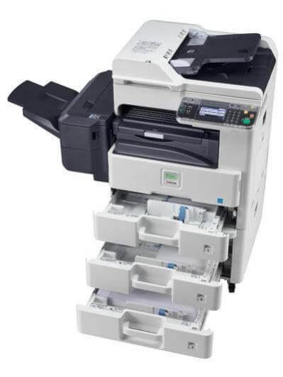 Kyocera Ecosys FS-6530MFP with 3 trays exposed @ www.multifaxdds.com.au