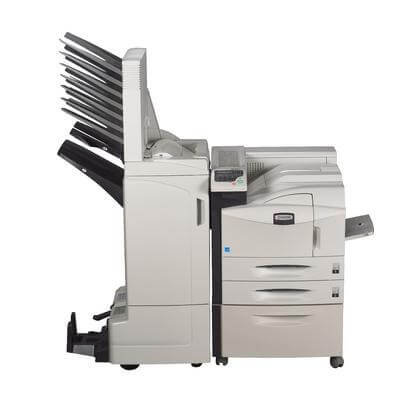 Kyocera Ecosys FS-9530DN with large finisher @ www.multifaxdds.com.au