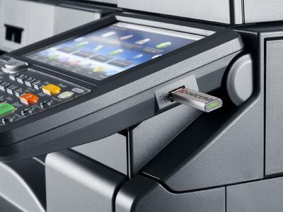 Kyocera TASKalfa 4501i USB host printing @ www.multifaxdds.com.au