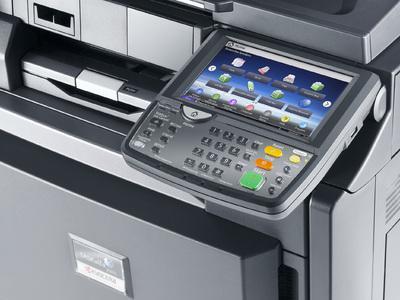 Kyocera TASKalfa 4501i control panel @ www.multifaxdds.com.au