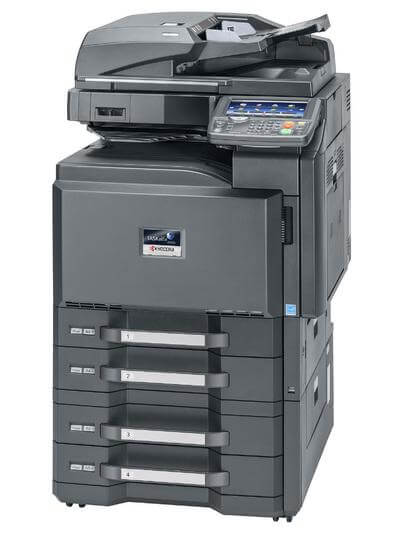 Kyocera TASKalfa 4501i with PF-730 deck right @ www.multifaxdds.com.au