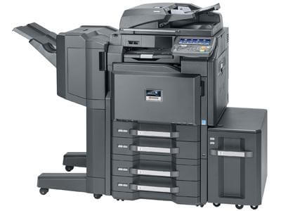 Kyocera TASKalfa 4501i with decks and finsiher  @ www.multifaxdds.com.au