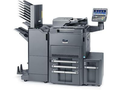 TASKalfa 8001i With Booklet Finisher and Mailbins RH @ www.multifaxdds.com.au