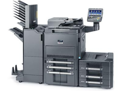 TASKalfa 8001i with Booklet Finisher, Mailbins and PF Unit LH 2 @ www.multifaxdds.com.au