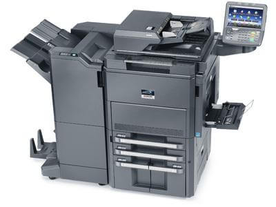 TASKalfa 8001i with Booklet Finisher Top @ www.multifaxdds.com.au