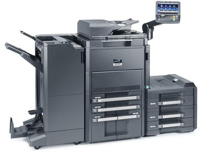 TASKalfa 8001i with Booklet Finisher and PF Unit RH @ www.multifaxdds.com.au