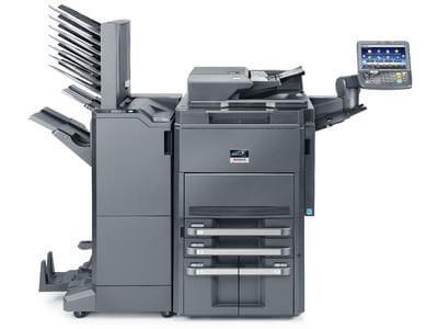 TASKalfa 8001i with Finisher and Mailbins@ www.multifaxdds.com.au