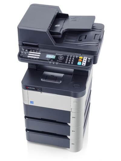 Kyocera ECOSYS M3040dn with Three Trays top @ www.multifaxdds.com.au