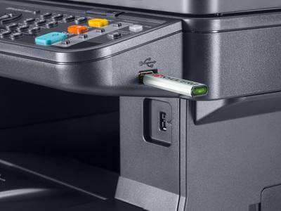 Kyocera ECOSYS M3540dn USB Host Print panel @ www.multifaxdds.com.au