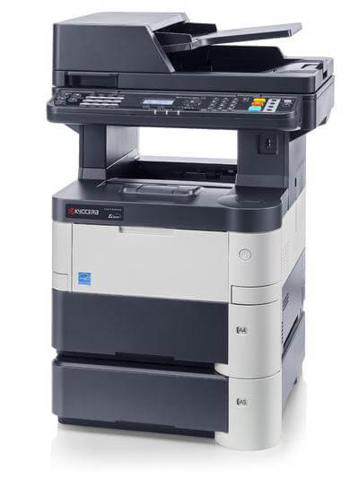 Kyocera ECOSYS M3550idn with Two Trays RH @ www.multifaxdds.com.au
