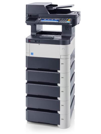 M3040idn with 5 trays RH @ www.multifaxdds.com.au