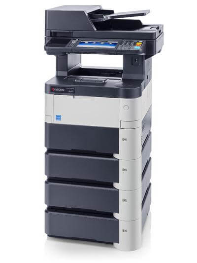 M3550idn with 4 trays RH @ www.multifaxdds.com.au