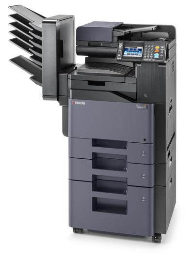 TASKalfa 306ci with 4 trays and mailbins RH @ www.multifaxdds.com.au