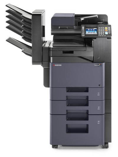 TASKalfa 306ci with mailbins and 4 trays @ www.multifaxdds.com.au