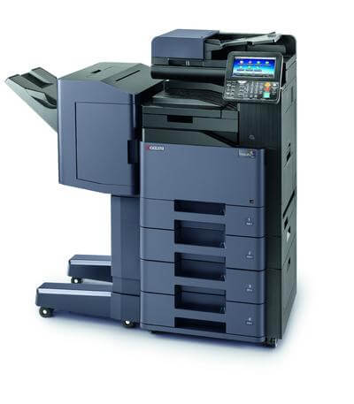 TASKalfa 356ci with Document Finisher and 4 trays @ www.multifaxdds.com.au