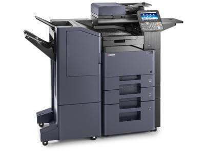 TASKalfa 356ci with large capacity Document Finisher LH @ www.multifaxdds.com.au