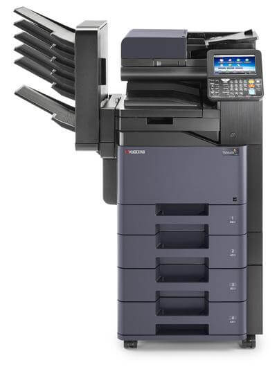 TASKalfa 356ci with mailbins and 4 trays @ www.multifaxdds.com.au