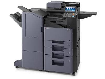 TASKalfa 406ci with large capacity Document Finisher RH @ multifaxdds.com.au