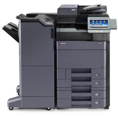 TASKalfa 5052ci with 4 trays and 4,000 sheet Finisher @ www.multifaxdds.com.au