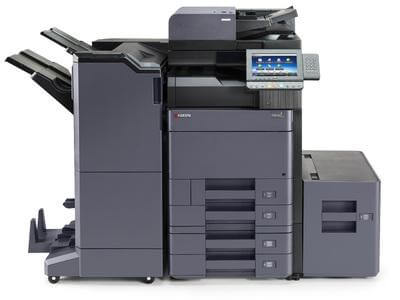 TASKalfa 5052ci with 4 trays and side deck @ www.multifaxdds.com.au