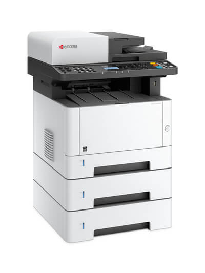 Kyocera ECOSYS M2040-2540dn with three trays LH @ www.multifaxdds.com.au