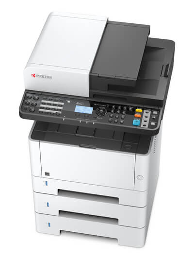 Kyocera ECOSYS M2635dn with three trays @ www.multifaxdds.com.au