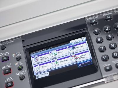 Kyocera SMART FS-C8520MFP display @ www.multifaxdds.com.au