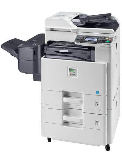Kyocera SMART FS-C8525MFP with PF470 and finsiher @ www.multifaxdds.com.au