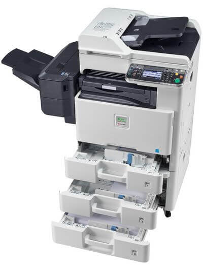Kyocera SMART FS-C8525MFP with PF471 open_1 @ www.multifaxdds.com.au