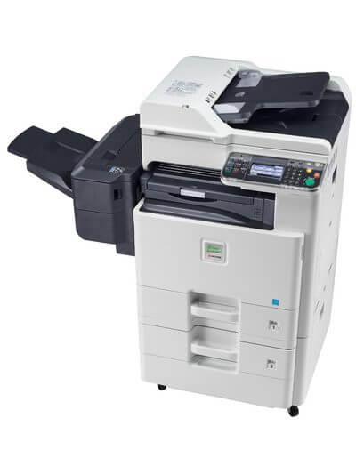 Kyocera SMART FS-C8525MFP with finisher @ www.multifaxdds.com.au