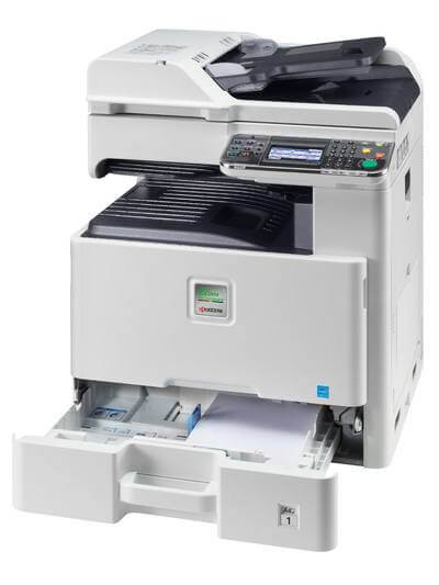 Kyocera SMART FS-C8525MFP with tray @ www.multifaxdds.com.au