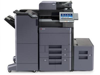 TASKalfa 6002i with 4000 sheet Finisher and Side Deck @ www.multifaxdds.com.au