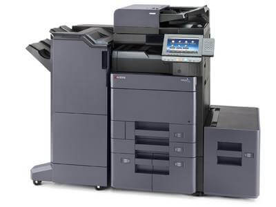 TASKalfa 6002i with 4000 sheet Finisher and Side Deck RH @ www.multifaxdds.com.au