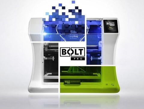 The BOLT PRO 3D printer is here!